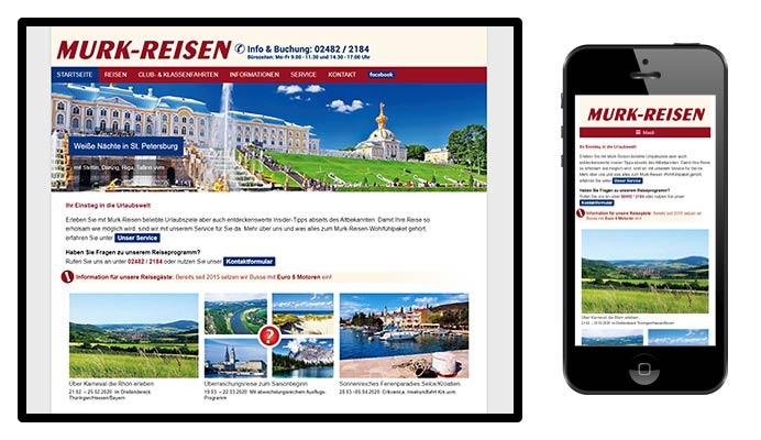 Website Murk-Reisen